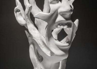 La Força Interior_macryl blanc_52x64x82cm